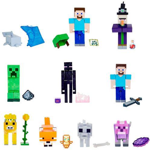 Minecraft Pack Figura Articulada Surtida
