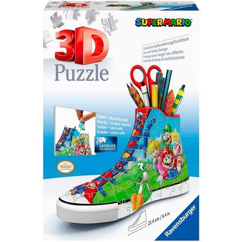 Super Mario Zapatilla 3D