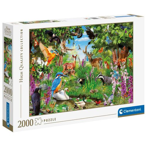 Puzzle Bosque Fantástico 2000 Piezas
