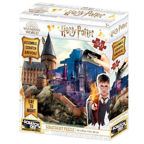 Harry Potter Puzzle para Rascas 500 Piezas