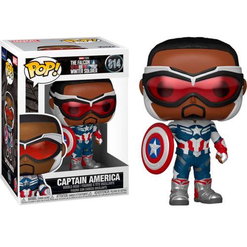 Funko POP TFAWS Capitán América