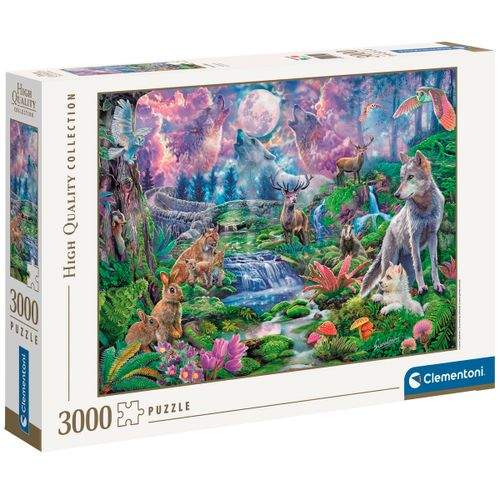 Puzzle Moonlit Wild 3000 Piezas