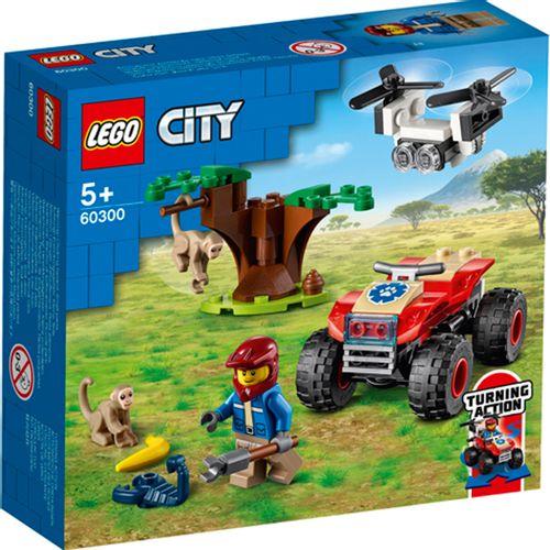 Lego City Rescate de la Fauna Salvaje: Quad