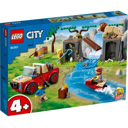 Lego City Rescate de la Fauna Salvaje: Todoterreno