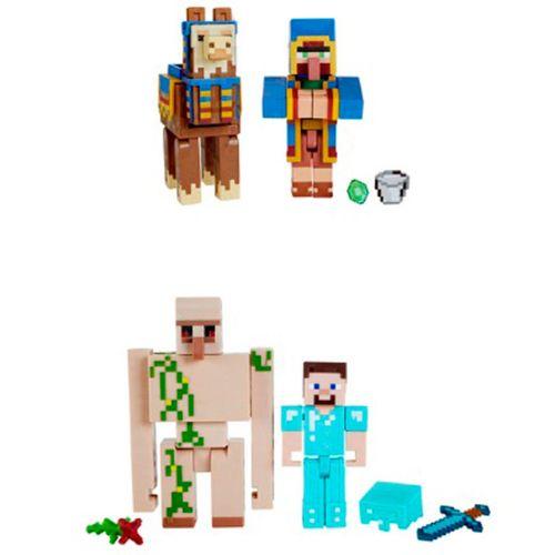 Minecraft Pack 2 Figuras Surtidas