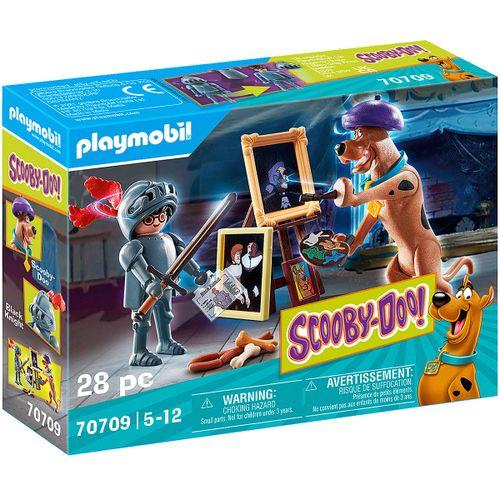 Playmobil SCOOBY-DOO! Aventura con Black Knight