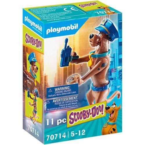 Playmobil SCOOBY-DOO! Figura Coleccionable Policía