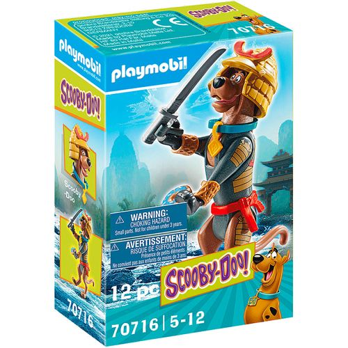 Playmobil SCOOBY-DOO! Figura Coleccionable Samurai