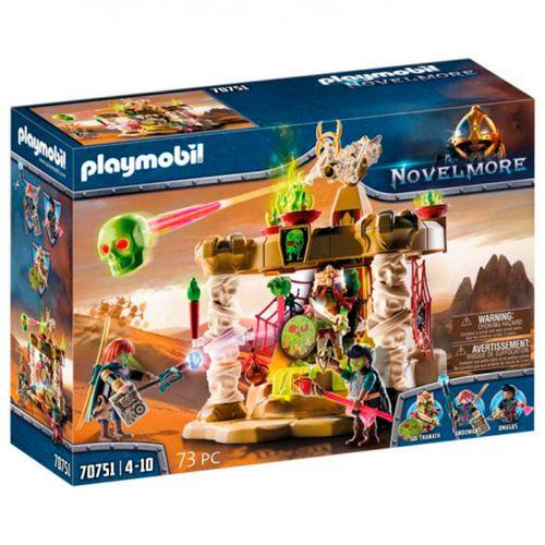 Playmobil Nolvemore Templo Ejercito Esqueletos