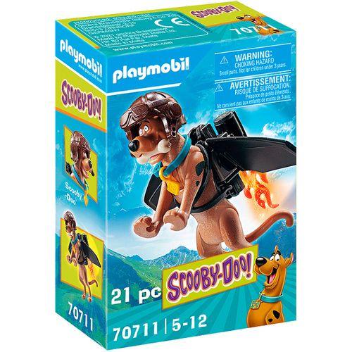 Playmobil SCOOBY-DOO! Figura Coleccionable Piloto