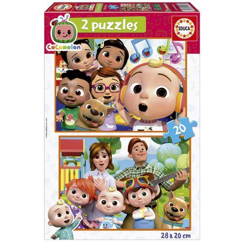 Cocomelon Puzzle 2x20 Piezas