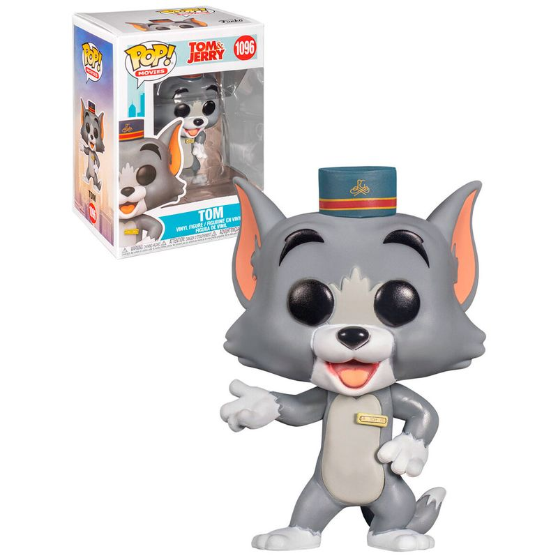 Funko-POP-Tom---Jerry-Tom-el-Gato