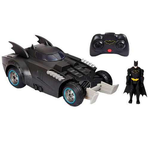 Batman Batmovil RC Lanza-Defiende
