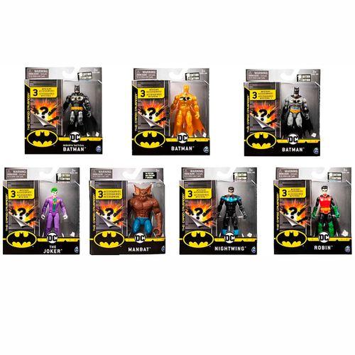 Batman Bat-Tech Figura 10 cm Surtida