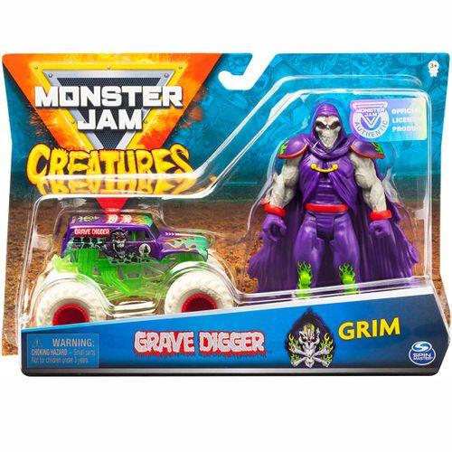 Monster Jam Creatures Vehículo + Monstruo Surtido