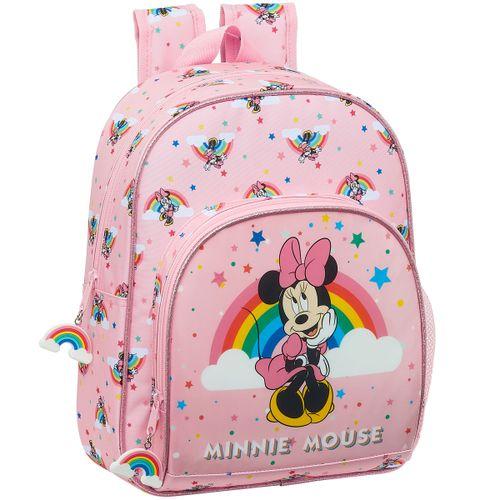 Minnie Mouse Rainbow Mochila Infantil