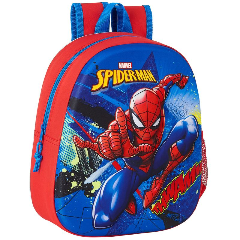 Spiderman-Mochila-Infantil-3D