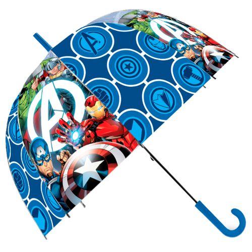 Los Vengadores Paraguas Transparente Automático
