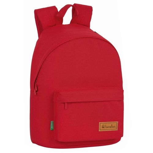 Benetton Mochila Escolar Red