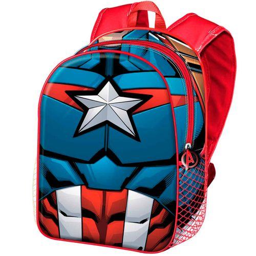 Capitán América Mochila Infantil Básica