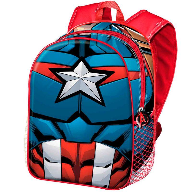 Capitan-America-Mochila-Infantil-Basica