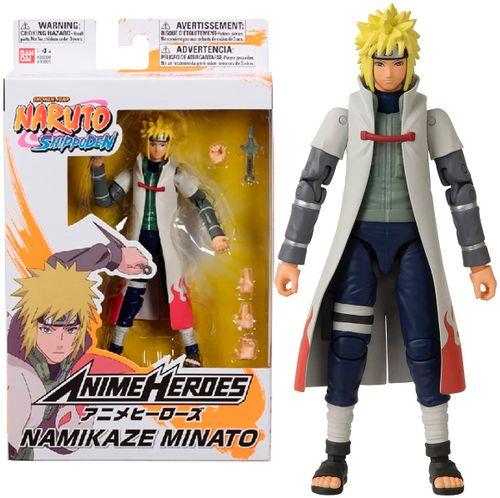 Naruto Shippuden Anime Heroes Figura Minato