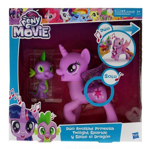 My Little Pony Dúo Amistad Princesa Twilight Sparkle y Spike