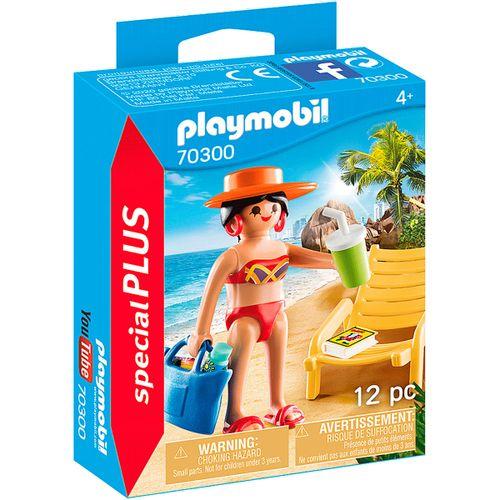 Playmobil Turista con Hamaca