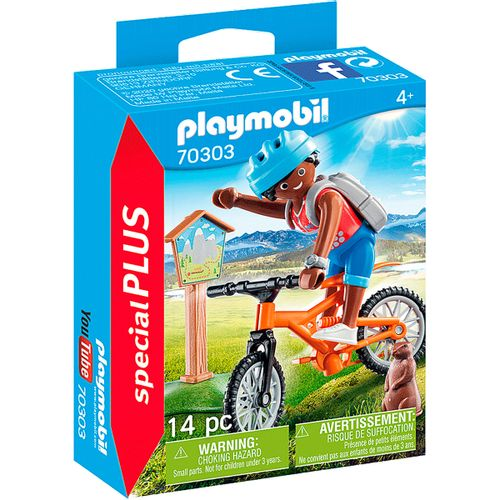 Playmobil Special Plus Ciclista de Montaña