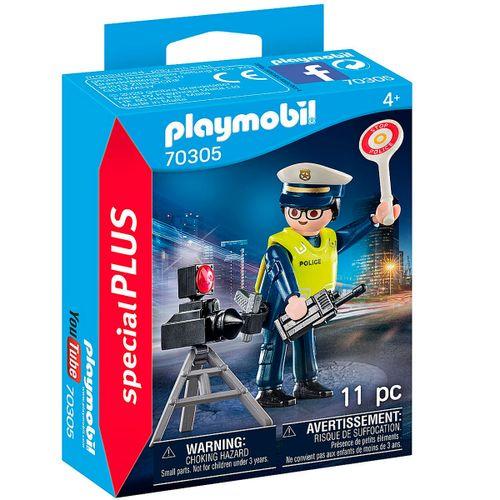Playmobil Special Plus Policía con Radar