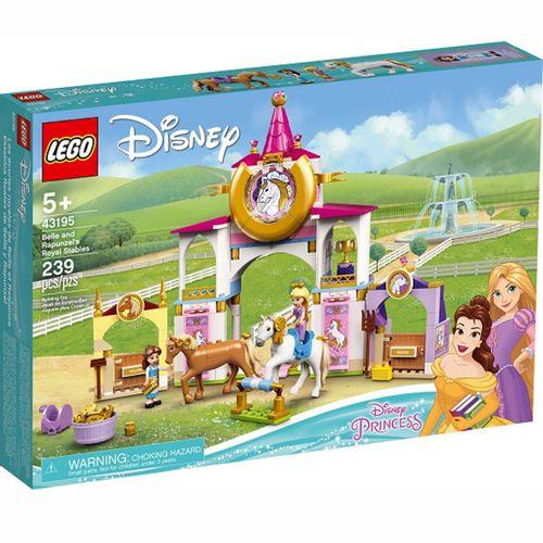 Lego Disney Establos Reales de Bella y Rapunzel