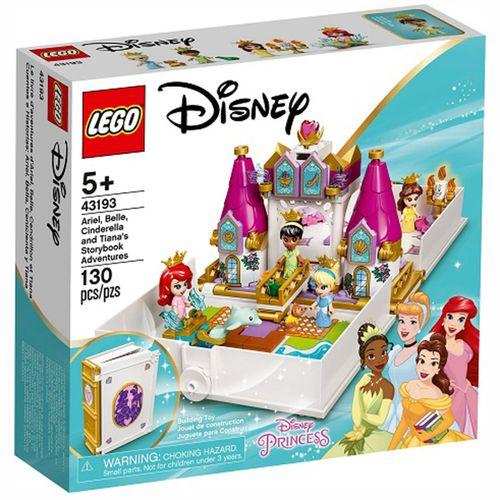 Lego Disney Cuentos Ariel, Bella, Cenicienta Tiana