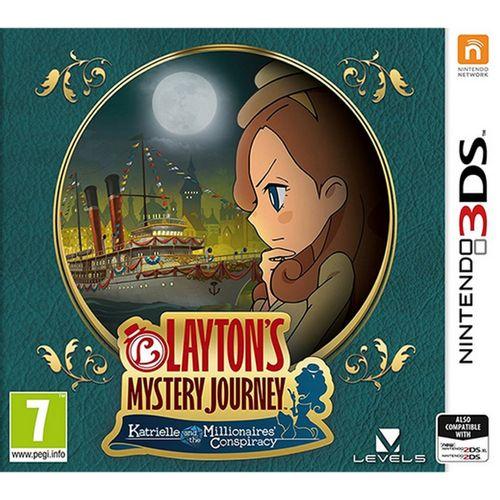 El Misterioso Viaje De Layton 3DS