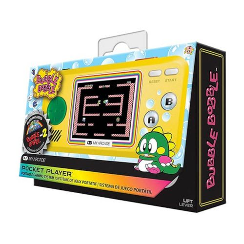 My Arcade Pocket Player Bubble Bobble Consola