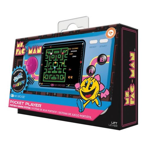 My Arcade Pocket Player Miss Pacman Consola