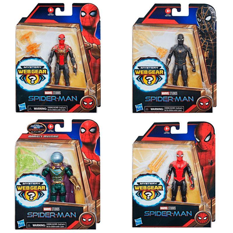Spiderman-Figura-Web-Gear-15-cm-Surtida