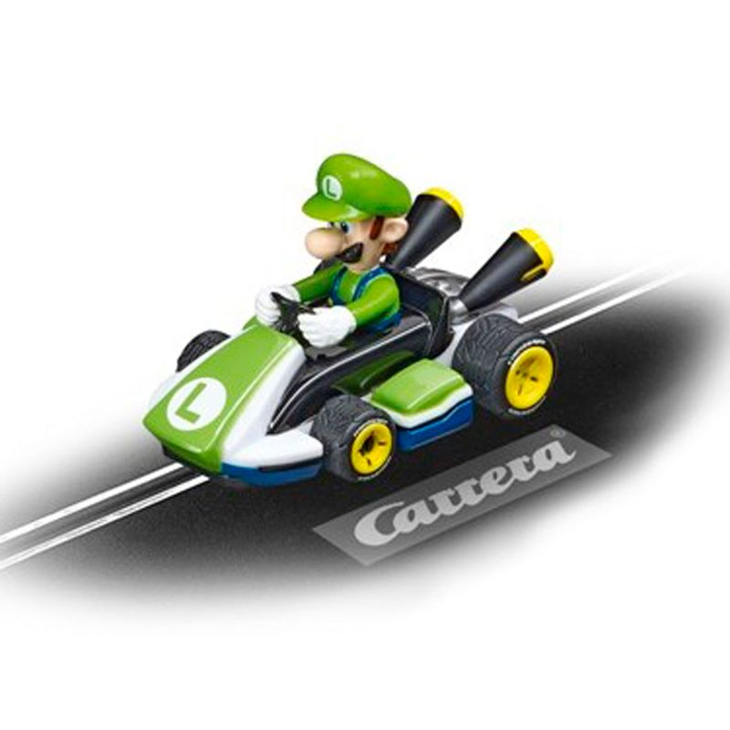 Carrera-FIRST-Coche-Mario-Kart-Luigi