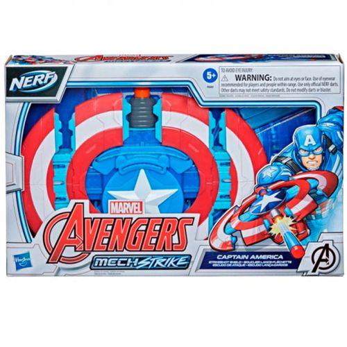 Vengadores Nerf MechStrike Capitán América Escudo