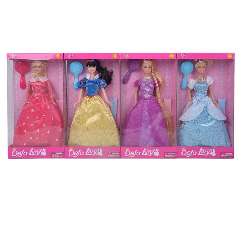 Defa-Lucy-Muñeca-Princesa-Surtida