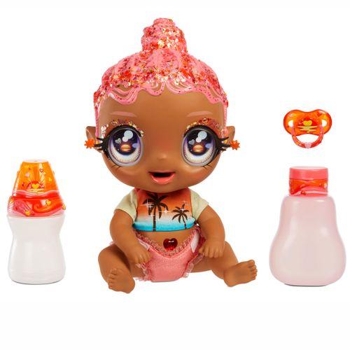 Glitter Babyz Muñeca Bebé Coral Pink
