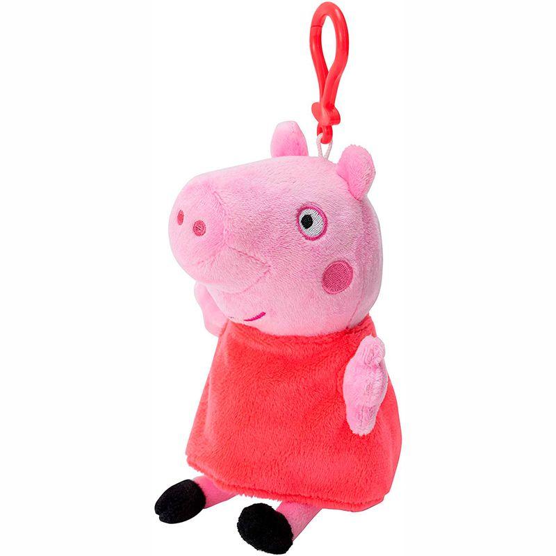 Peppa-Pig-Monedero-Llavero-Surtido