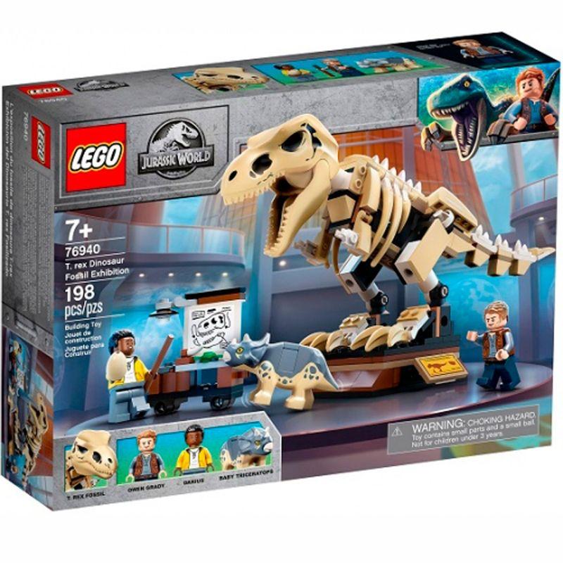Lego-Jurassic-Exposicion-del-Dinosaurio-T-rex