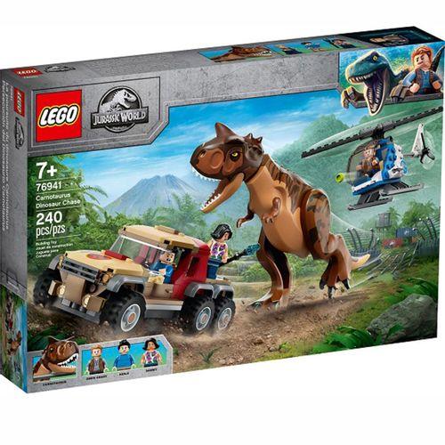 Jurassic World Persecución del Carnotaurus