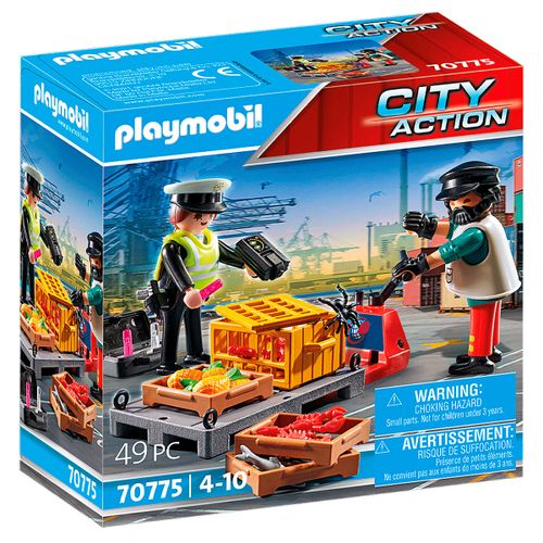 Playmobil Action Control Aduanero