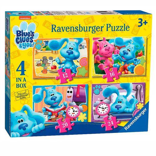 Las Pistas de Blu y Tu Puzzle Progresivo