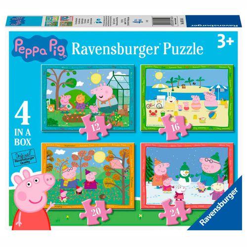 Peppa Pig Puzzle Progresivo 12+16+20+24