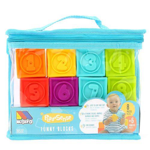 Bolsa 8 Cubos Sensoriales