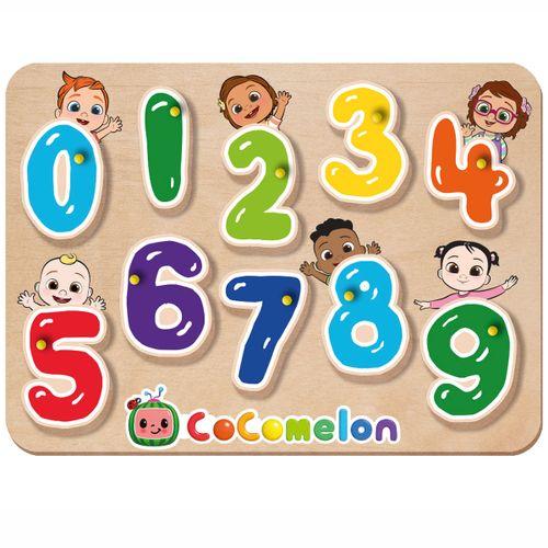 Cocomelon Tablero con Números