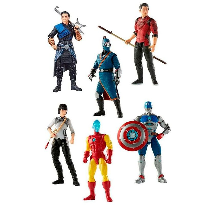 Marvel-Legends-Shang-Chi-Figura-Surtida
