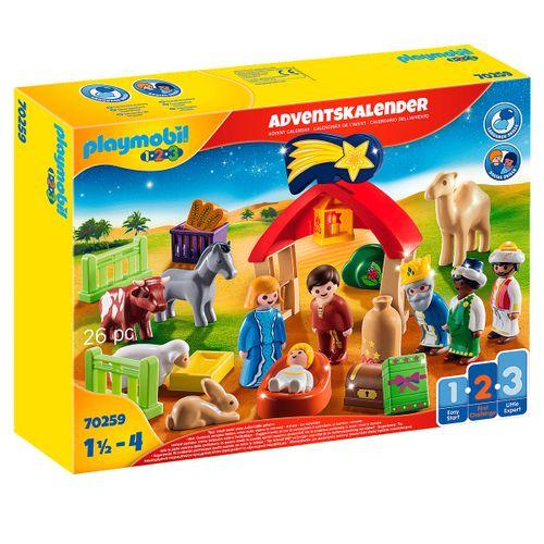Playmobil 1 2 3 Calendario Adviento Belén